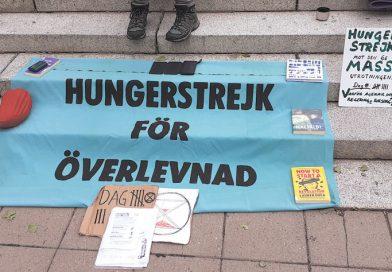 Hungerstrejkstafett för överlevnad